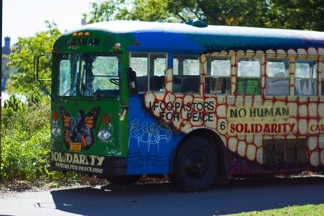 Standing Rock Bus