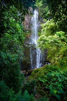 MAUI - one of the many waterfalls along the Hana Highway