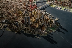 The New York Panorama is a 1:1,200 scale model of the city, built in 1964.