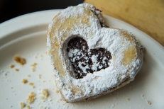Italian jam cookie from Cranberry's on Valentine's Day.